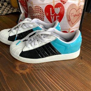 Adidas Original Superstar Suede Sneakers US 4